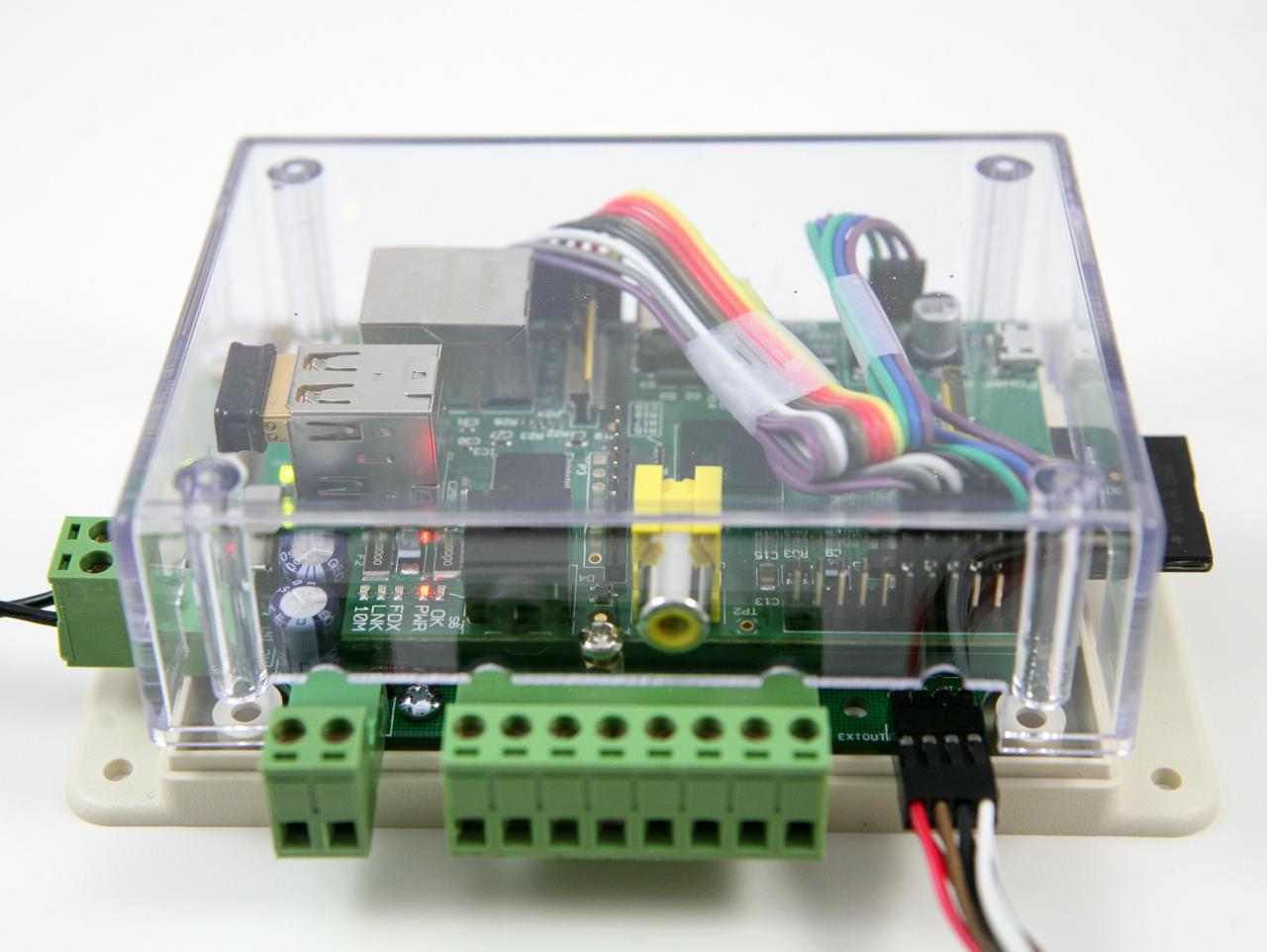 OpenSprinkler Pi (OSPi) — Sprinkler / Irrigation Extension