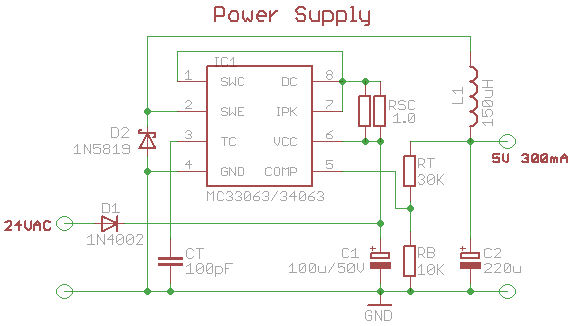 5v 500ma Usb Power Supply