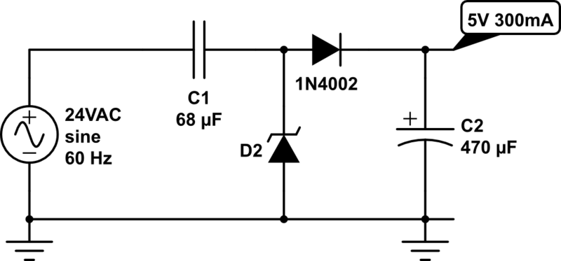 24vac To 5vdc Conversion 171 Rayshobby Net