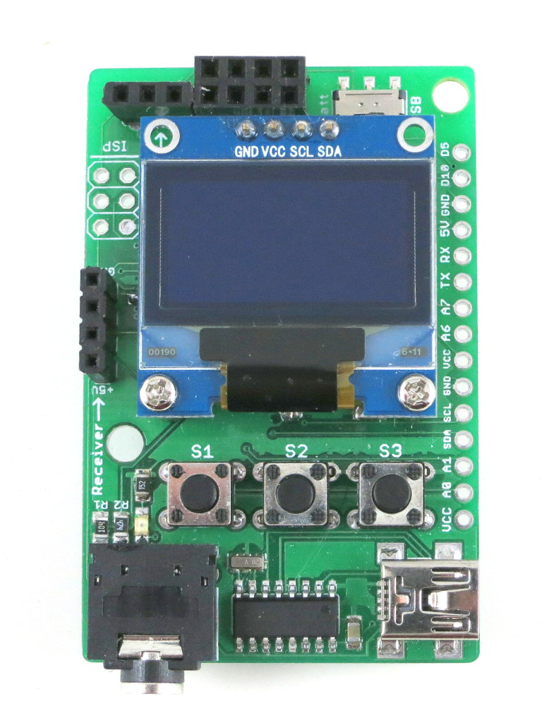 Links Circuit Ideas I Projects Schematics Robotics Universal Remote Control Pcb Board From Experienced Today Am Introducing The First Version Of Rftoy An Arduino Compatible Gadget For Interfacing With Radio Frequency Rf Modules