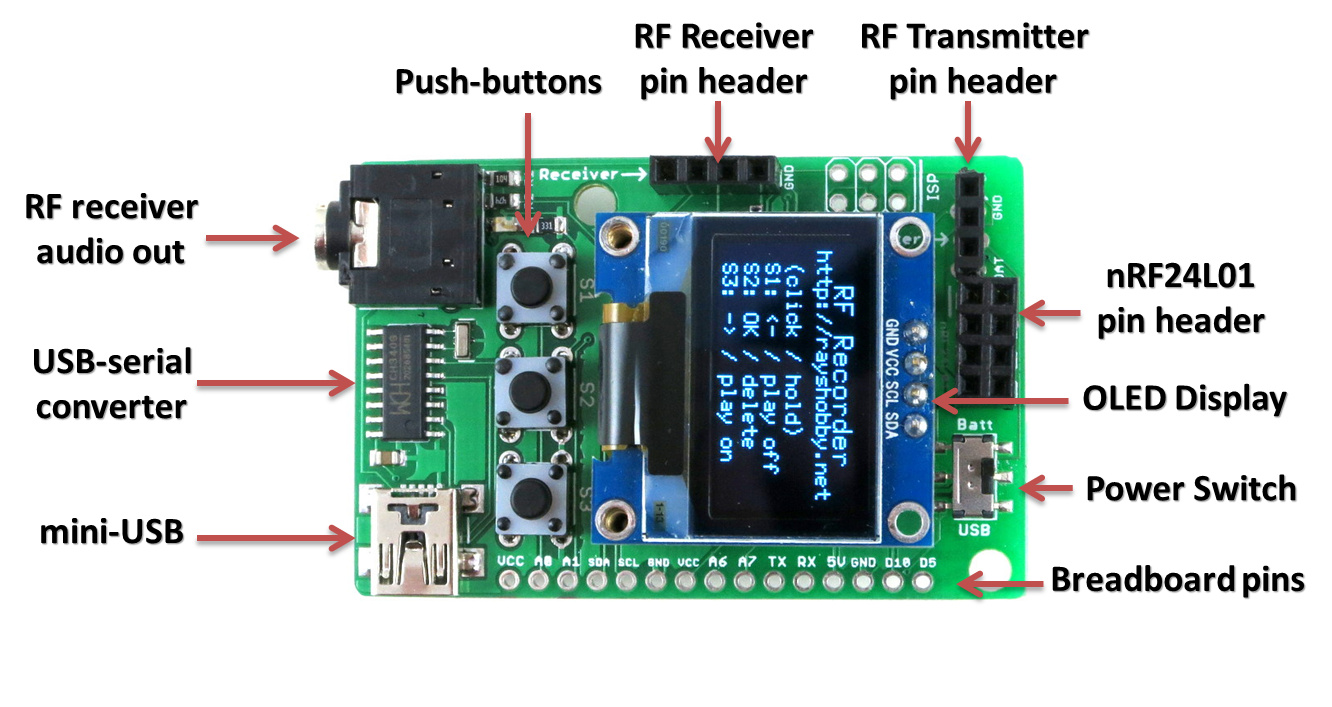 Rftoy Arduino Compatible With Oled Display