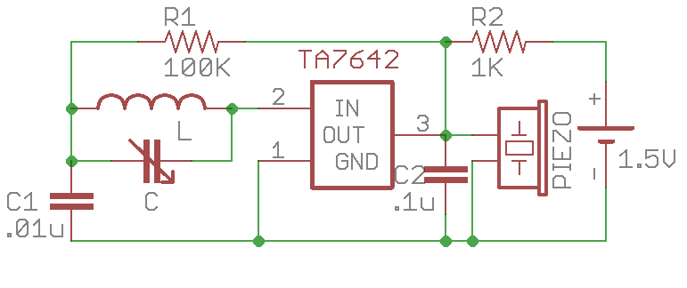 learning electronics \u2014 2 fun with crystal radio and extensionsto hear the sound through a speaker, you can again use the lm386 audio amplifier